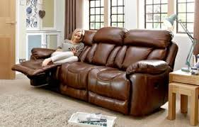 3 Seater Leather Recliner Sofa Dfs Leather Recliner Sofas Www Redglobalmx Org