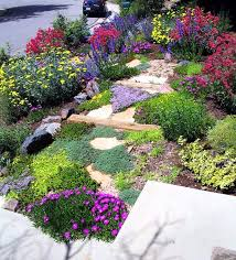 Backyard Hill Landscaping Ideas Backyard Slope Landscaping Great Yard Ideas For Sloping Yards
