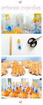 Cinderella Cupcakes 25 Beste Ideeën Over Assepoester Cupcakes Op Pinterest