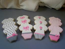 pink and gray baby shower sweet s cookies baby shower cookies pink and gray onesies