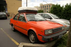 old parked cars 1983 nissan sentra