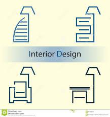 interior design stock vector image 60186004