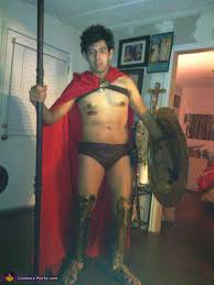 Spartan Halloween Costumes Homemade Spartan Costume Photo 2 2