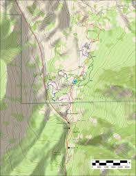 Utah County Map by Four Bay Mountain Bike Trail System In Payson Canyon