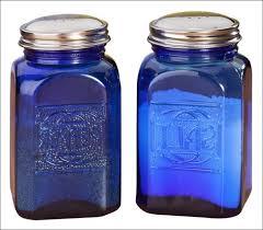 cobalt blue kitchen canisters kitchen blue green orange glass canisters set of 3 kitchen sugar