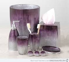 Purple Bathroom Sets | 15 elegant purple bathroom accessories hand towels towels and