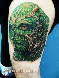 swamp thing bedlam tattoo design by riley rossmo twitter