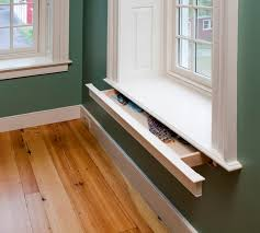 Open Shelves Under Cabinets Window Sill Hidden Drawer Open Storage And Shelving