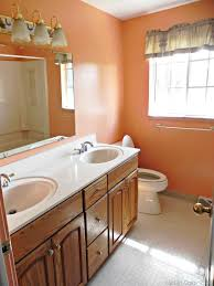 Free Bathroom Makeover - bathroom makeovers best day small bathroom makeover u before and