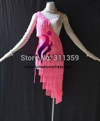 online shop kaka l1511 women dance wear girls fringe latin dress
