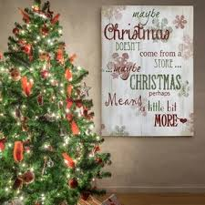 christmas wall art u0026 paintings you u0027ll love wayfair