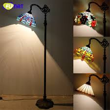 Dragonfly Light Fixture Fumat Stained Glass Floor L Vintage Style Dragonfly Baroque