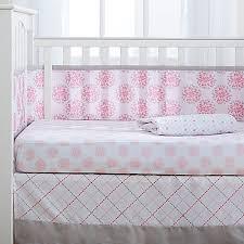 Dahlia Nursery Bedding Set Breathablebaby Dahlia 4 Crib Bedding Set Bed Bath Beyond
