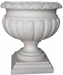 white plastic grecian urn planter u2013 home image ideas