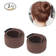 cool hair donut mlmsy hair bun maker hair doughnut donut hair styling disk former