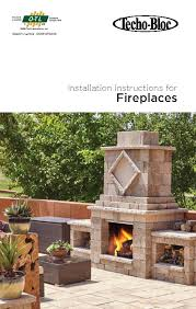 Fireplace Installation Instructions by Installation Guide U2013 Manchester Fireplace Landscaping Products