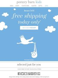 Pottery Barn Kids International Shipping Pottery Barn Kids Hours Left For Free Shipping Milled