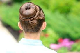 the perfect bow bun updo cute girls hairstyles