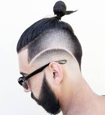 undercut back design men 40 statement hairstyles for men with thick hair