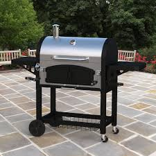 dual zone stainless steel bbq barbecue charcoal grills with