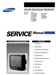 samsung ct5038 service manual k15a electrostatic discharge