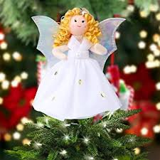 ourwarm mini tree topper 7 inch