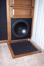 Home Theater Wall Units Amp Entertainment Centers At Dynamic Placing Subwoofer Inside Cabinet To Hide Bad Idea Avs Forum