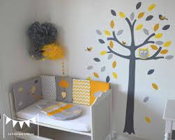 chambre enfant gris charmant of chambre bébé jaune et gris chambre