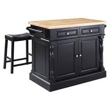 crosley butcher block top kitchen island butcher block top kitchen island with stools crosley target