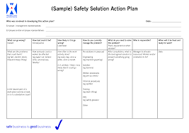 best photos of action plan examples action plan template