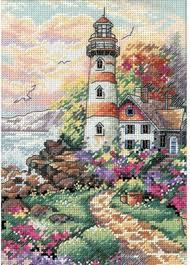dimensions beacon at daybreak cross stitch kit 6883 123stitch