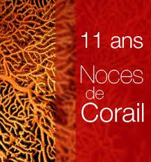 noces de corail 11 ans de mariage - 11 Ans De Mariage