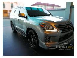 lexus lx uk lexus lx570 2009 5 7 in sabah automatic suv silver for rm 380 000
