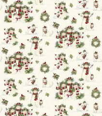 susan winget cotton fabric snowmen u0026 pets fabric pinterest