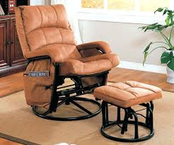 Fabric Glider Recliner With Ottoman Fabric Glider Recliner With Ottoman Getestate Us