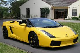 yellow and black lamborghini sold lamborghini gallardo spyder auctions lot 36 shannons