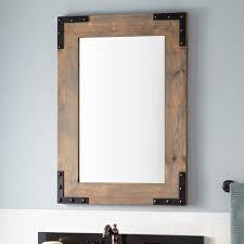 White Bathroom Mirror Frame Framed Bathroom Mirrors Signature Hardware