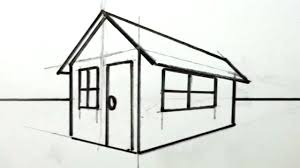 drawing houses big easy houses to draw how a house drawing step by tutorials for