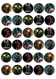 marvel cake toppers ebay