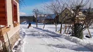 stiga park mit schneepflug youtube