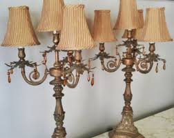 buffet lamps etsy