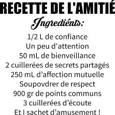 stickers recette cuisine stickers muraux cuisine citation 9 sticker recette de lamiti233