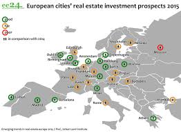 Europe Capitals Map by The Best Cities In Europe For Real Estate Investments U2013 2015 Ee24