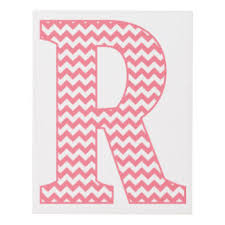 pink chevron r gifts on zazzle