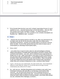 Phlebotomist Resume Example by What Is Verbatim Transcription Video Youtube