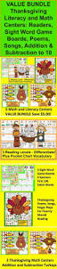 thanksgiving mini book the 126 best images about fall learning centers on pinterest