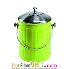 acheter poubelle cuisine poubelle à compost vert anti odeur pour cuisine 4 litres achat