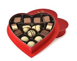 heart box of chocolates yossis 14pc chocolate heart box