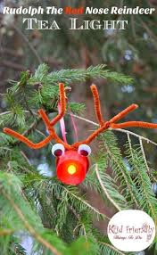 easy rudolph christmas ornament craft christmas ornament crafts