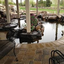 Pictures Of Backyard Waterfalls by Inspired Design Landscapes Inc Pictures Of Ponds Waterfalls And
